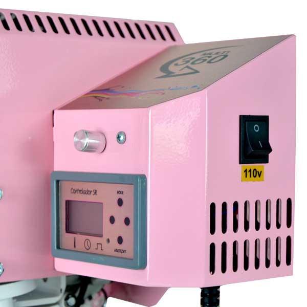 Prensa Transfer Multi 360 Slim - Serie Rosa
