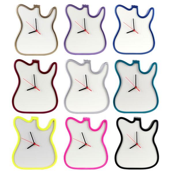 Relógio  Guitarra para Sublimação MDF - SFCT