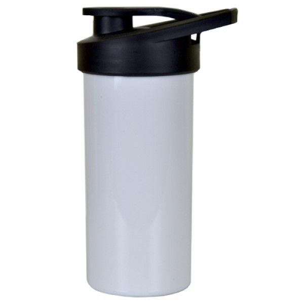 Squeeze de Polimero para Sublimação - Branco  - 500ml