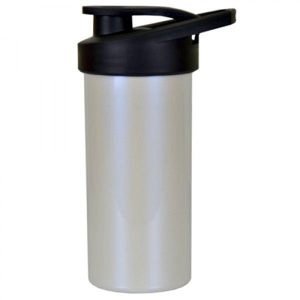 Squeeze de Polimero para Sublimação  Branco Perolizado  - 500ml