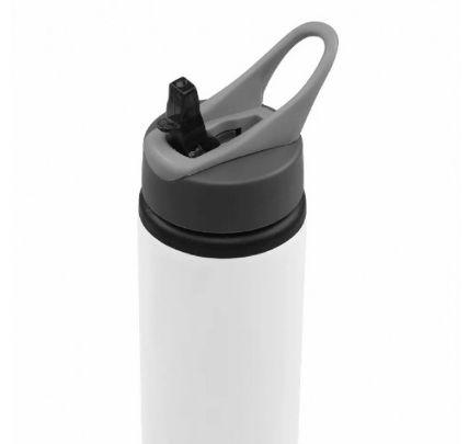 Squeeze  Bico dosador - de Aluminio Branco para sublimação - Nike - 600ml