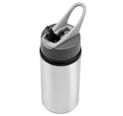 Squeeze  Bico dosador - de Aluminio Prata para sublimação - Nike - 600ml