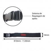 Cinto Ajustável Para Bolsa Porta Ferramenta 810-1120mm