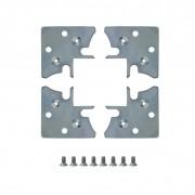 Jogo de Esquadreta fixador de perfil 34,5mm 004/026