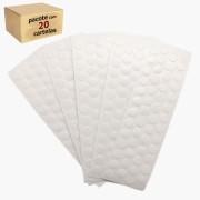 Kit Tapa Furo Adesivo Branco TX Com 20 Cartelas