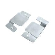 Suporte para Painel ou Sofá Zincado Branco Conjunto Com 2 peças