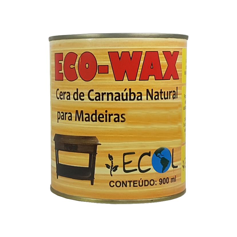 Cera de Carnaúba EcoWax Incolor 900ml