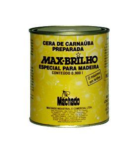 Cera de Carnaúba Max Brilho Incolor 900ml Machado
