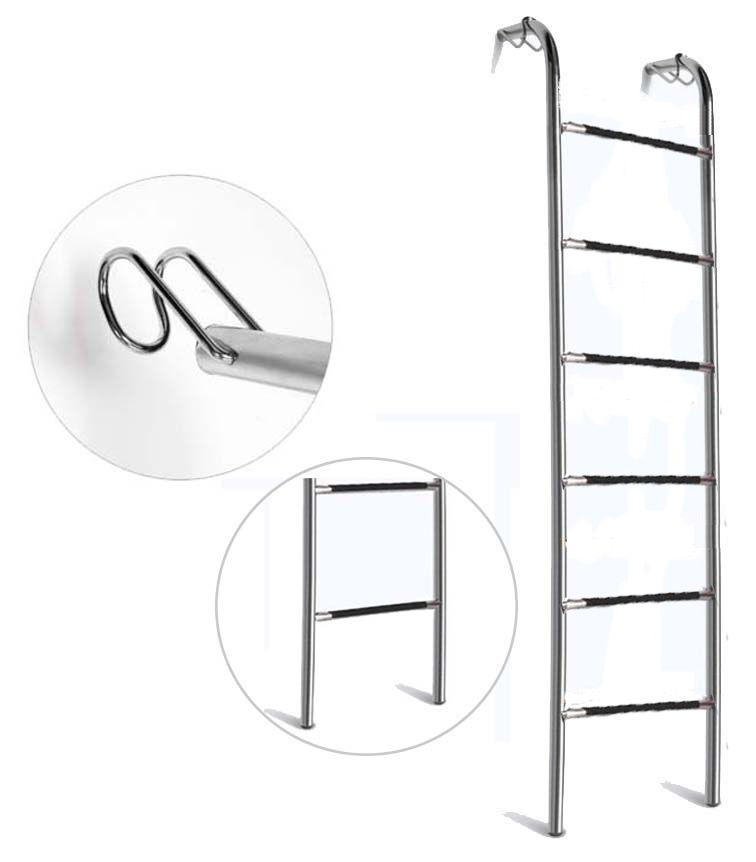 Escada Beliche Curva Degrau Oblongo 1,60m