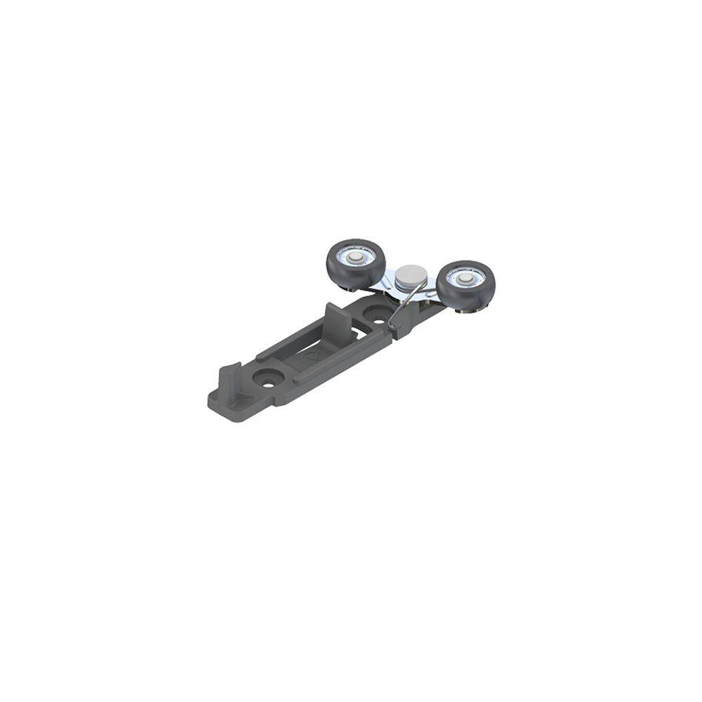 Jogo de Roldanas para Móveis CM155 Guia 25mm ou Guia Universal