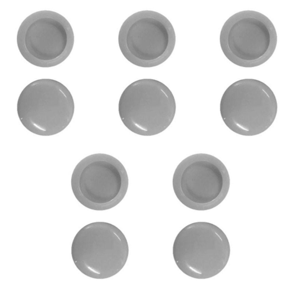 Kit Tampinha de Acabamento Parafuso Cabeça Panela CPL c/ 10pçs