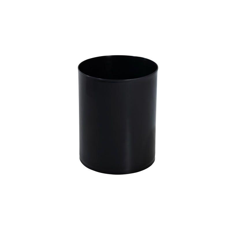 Lixeira Plástica Preta 12 litros Sem Tampa