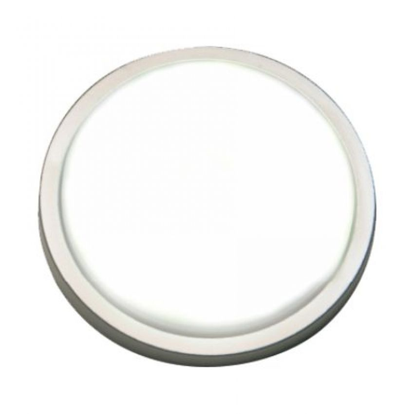 Luminária Redonda de Sobrepor 66mm com 8 Leds Branco Frio