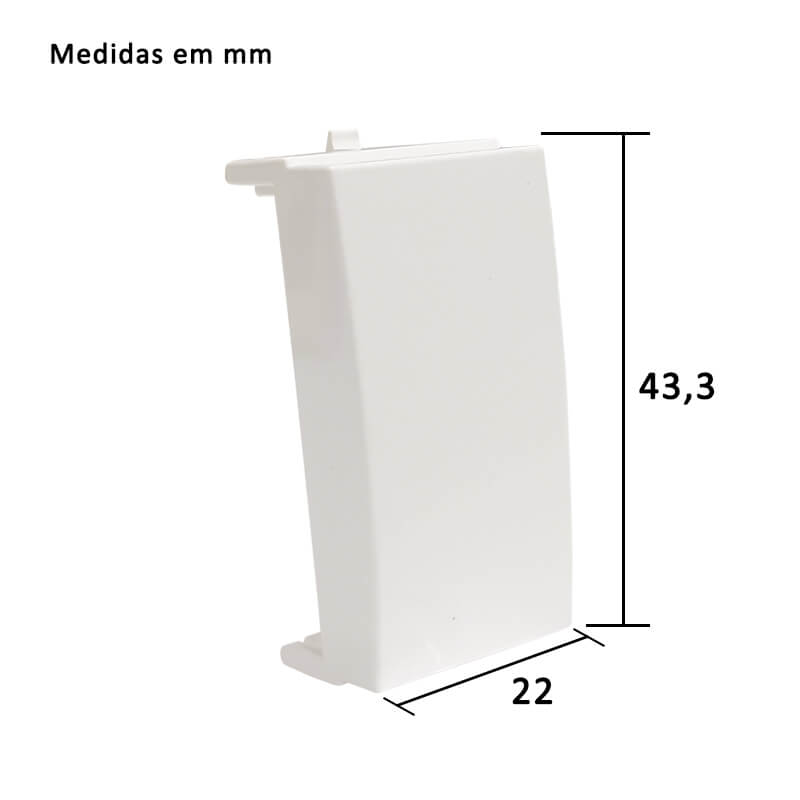 Módulo Cego Sleek com 2 unidades