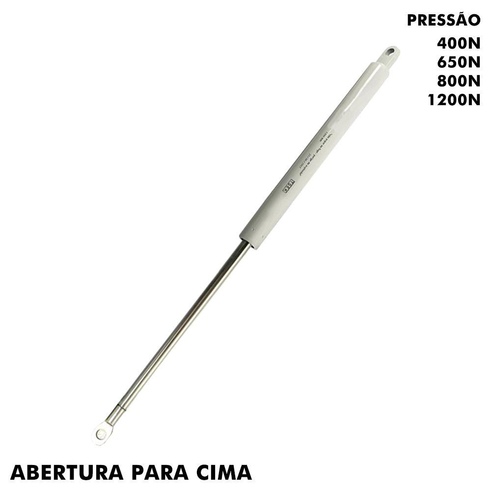 Pistão à Gás Grande 433mm / 410mm para Cama Box