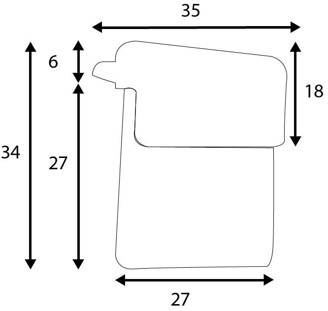 Protetor de Quina para Móvel com 4 unidades