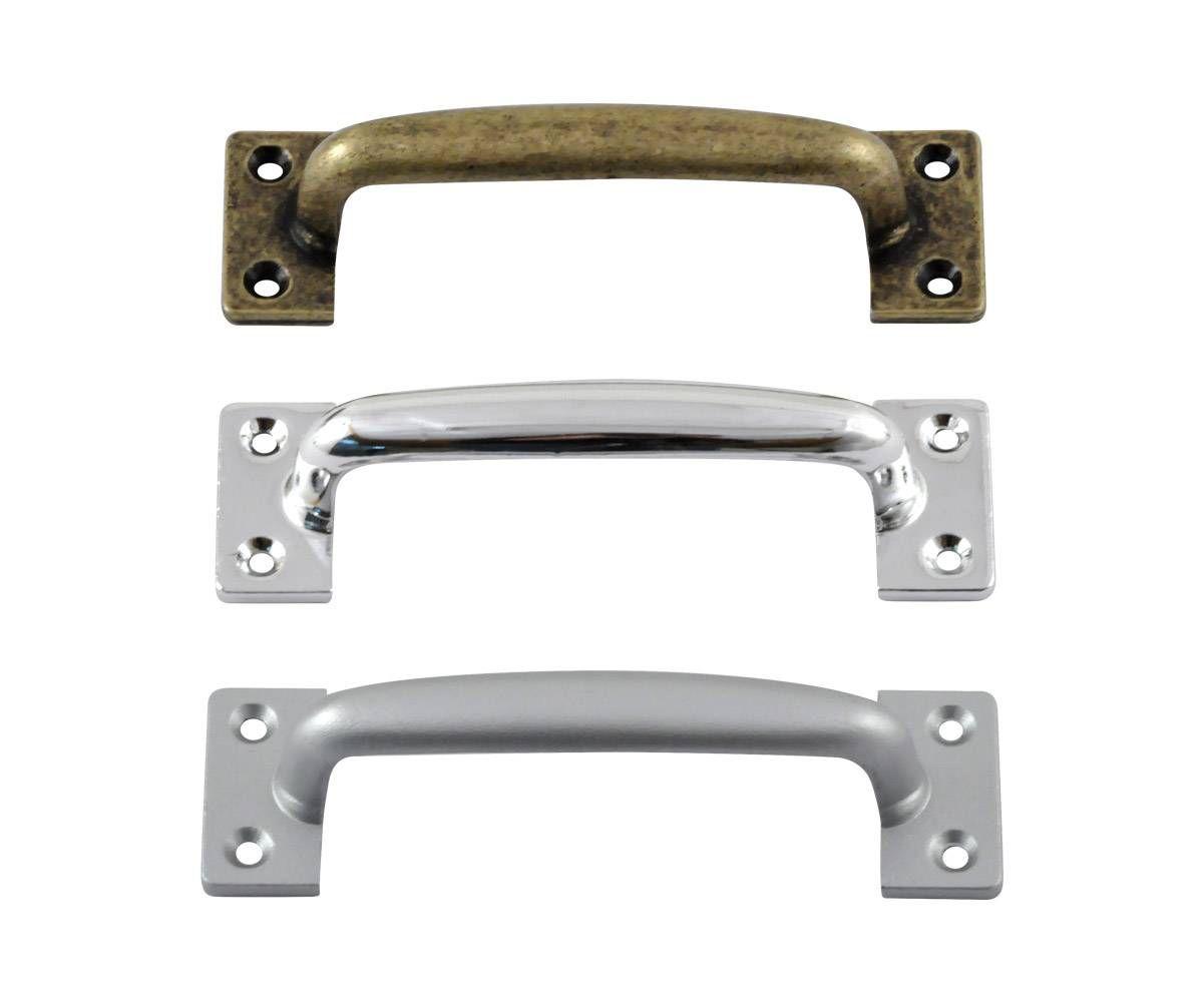 Puxador Alça de metal 100mm para Móveis e Portões