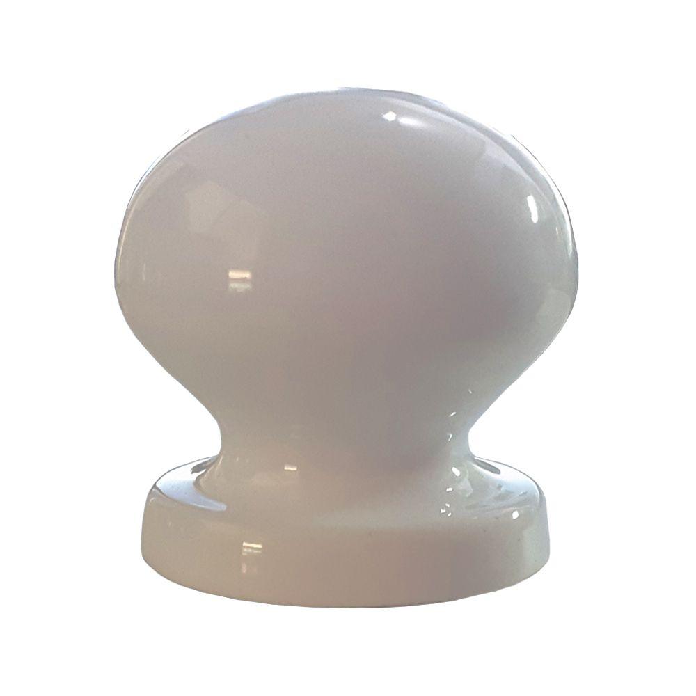 Puxador Botão Bolinha em Alumínio para Móveis