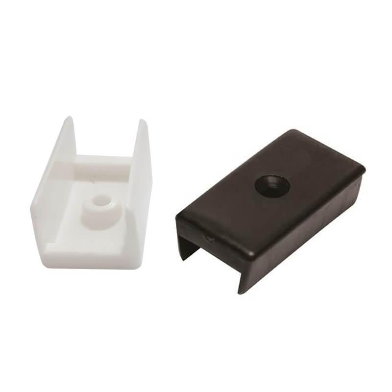 Sapata Plástica U com 100pçs 15mm ou 18mm
