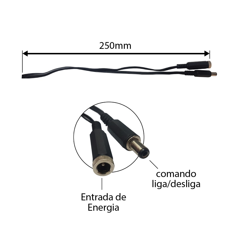 Sensor de Presenca de Embutir 12v