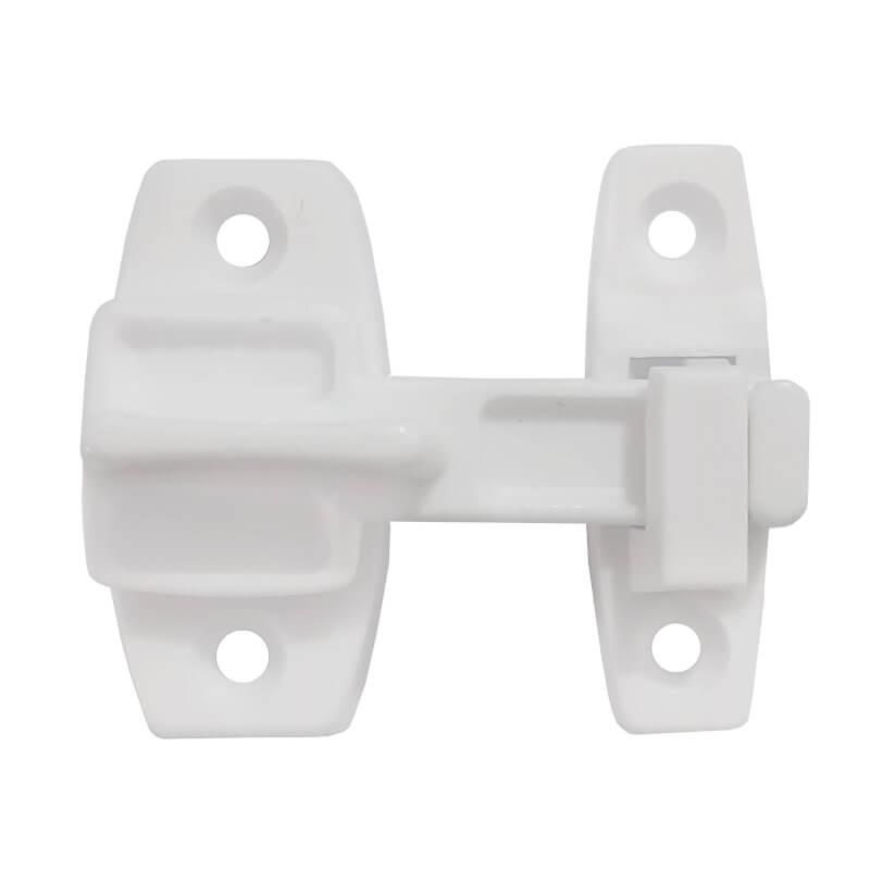 Tranqueta Plástica Branca para Porta Sanfonada
