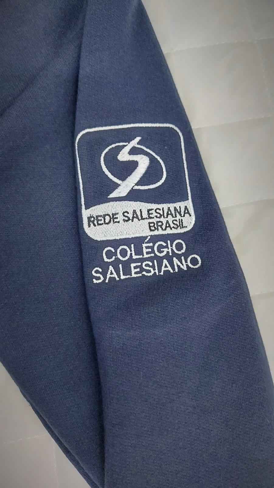 Blusão Moletom Unissex Juvenil COLÉGIO SALESIANO