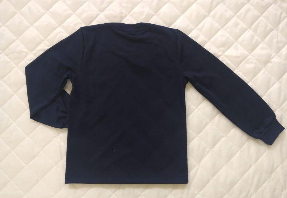 Camiseta Manga Longa Azul Marinho Adulto REDE SALESIANA