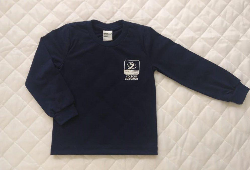 Camiseta Azul Marinho Infantil Unissex