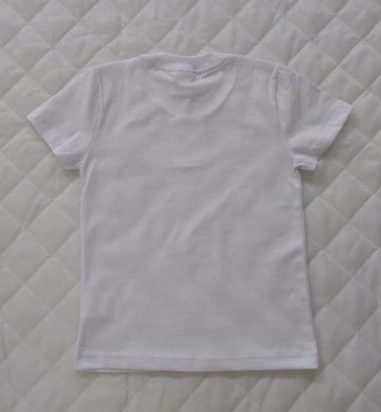 Camiseta Manga Curta Branca Infantil REDE SALESIANA