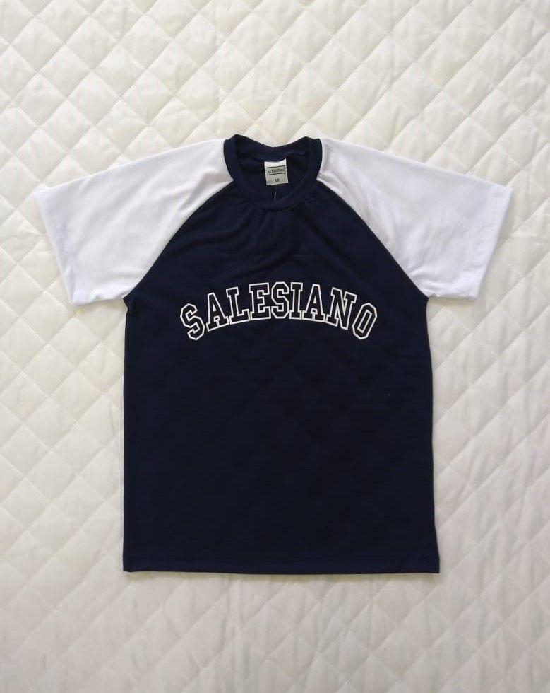 Camiseta College COLÉGIO SALESIANO Juvenil Unissex