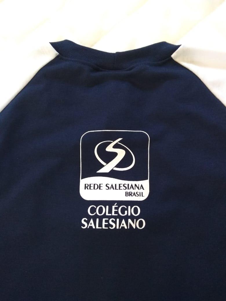 5649e69d9b3eb Camiseta College COLÉGIO SALESIANO Juvenil Unissex - Q Malhas