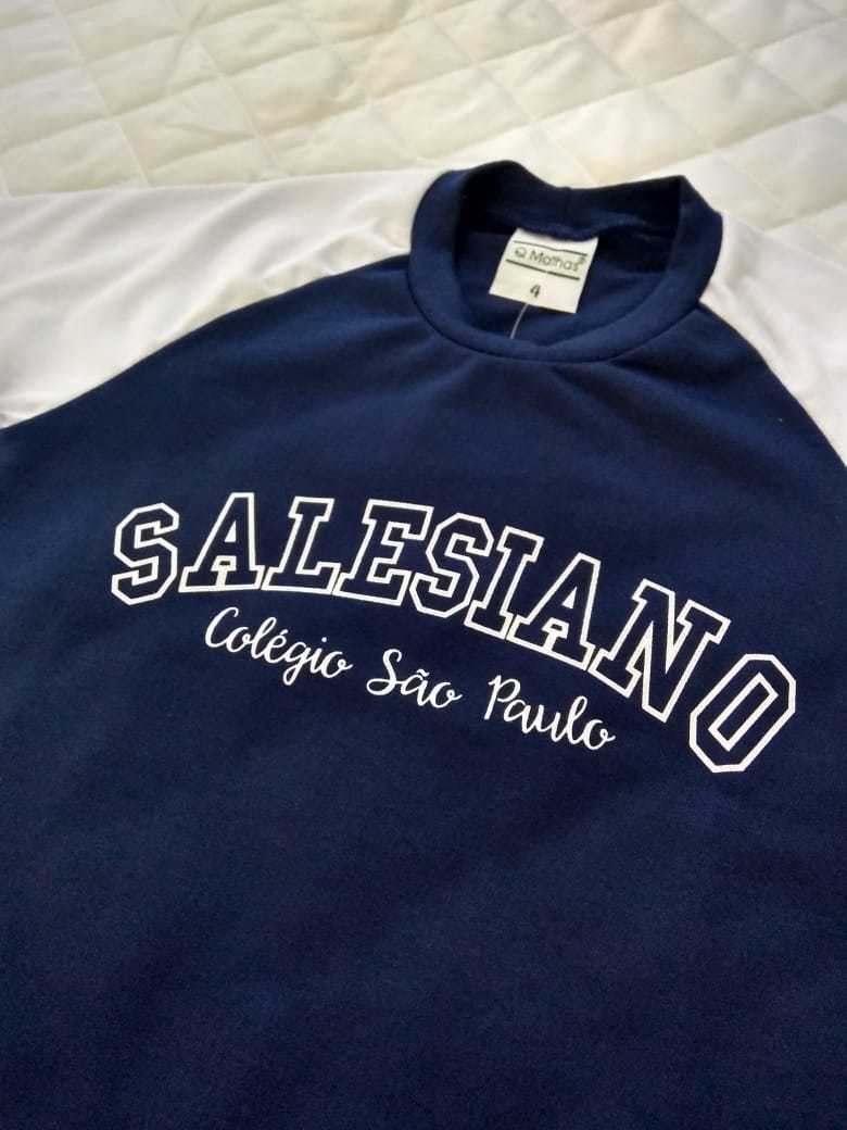 Camiseta College Infantil COLÉGIO SÃO PAULO