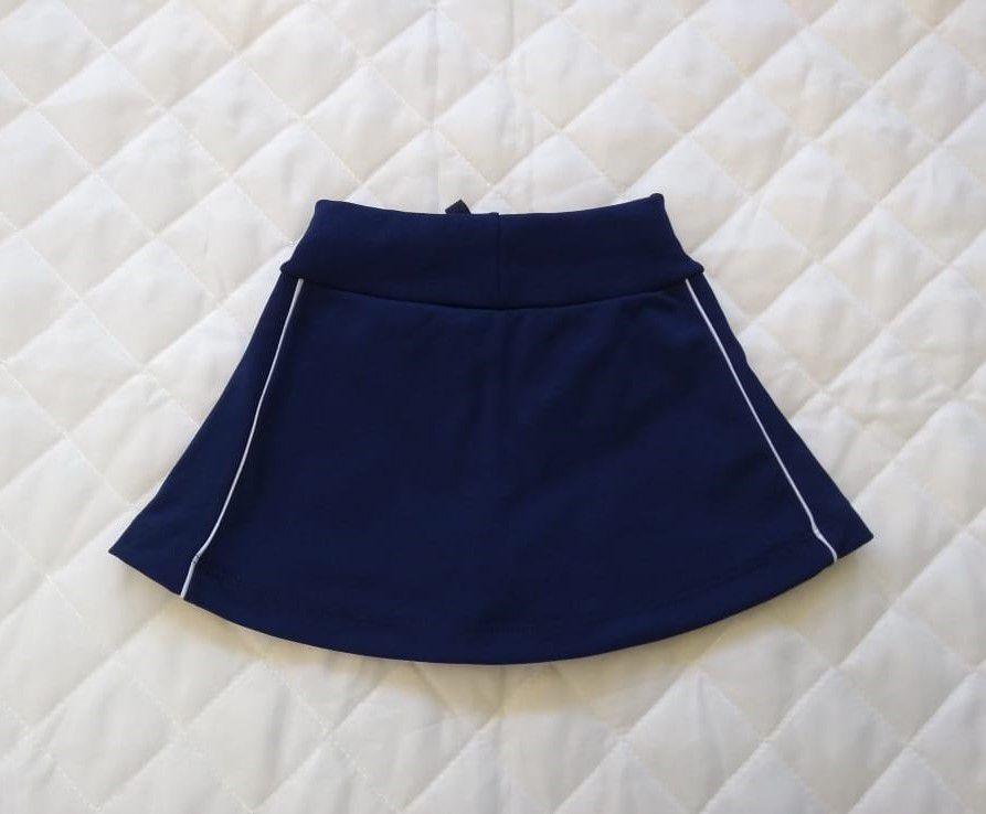 Shorts Saia Colegial Infantil Feminino