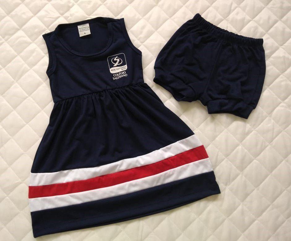 Vestido Regatinha Infantil REDE SALESIANA