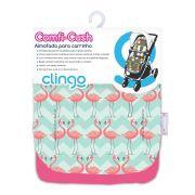 Almofada Carrinho Comfi Cush - Flamingo - Clingo