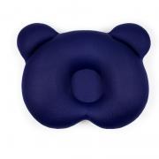 Almofada Ergonômica para Cabeça Bebê Ursinho Azul - Baby Pil