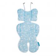 Almofada Redutora para Bebê Conforto Azul - Clingo