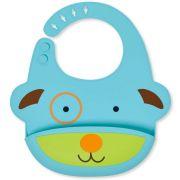 Babador de Silicone Zoo - Cachorro - Skip Hop