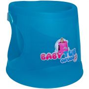 Banheira Ofurô Cristal Azul Translúcido - Baby Tub