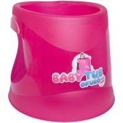 Banheira Ofurô Cristal Pink Flúor - Baby Tub