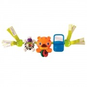 Barra de Atividades Take Along Tiger Carrier Toy Bar - Bright Starts