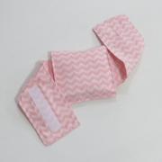 Bolsa Térmica Sementes c/cinta Chevron Rosa - Bebê sem Cólica