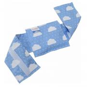 Bolsa Térmica Sementes c/cinta Nuvem Azul - Bebê sem Cólica