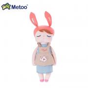 Boneca Angela Doceira Retro Bunny Rosa 33cm - Metoo