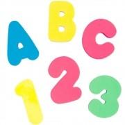 Brinquedo de Banho Letras e Números - Buba