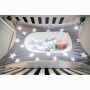 Cama Segura Bebê Primeiro Sono Cinza - Baby Pil