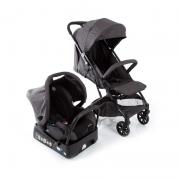 Carrinho para bebê Travel System Skill Trio Black Denin - Safety 1st