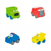 Carro Amiguinhos (4 unidades) - Winfun