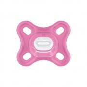 Chupeta Comfort 100% Silicone 0-2m Rosa (2 unidades) - MAM