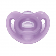 Chupeta Sensitive Soft 100% Silicone Girl S2 (2 unidades) - NUK